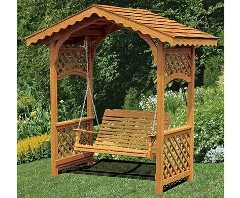 How do you build an arbor swing frame