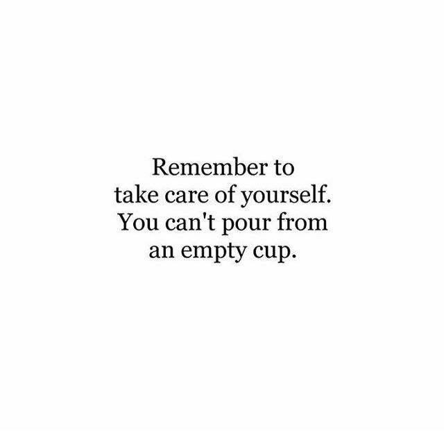 Huolehdi myös itsestäsi. 💕 .  .  .  .  #perjantai #viikonloppu #quote #huolehdiitsestäsi #takecare #femoreneur #girlboss #terveys #halsa #stressi #burnout #hidasta  📷: @thegoodquote