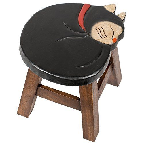 This stool is designed and handmade individually by skilled artisans. It is made of the highest quality acacia hardwood so it will last for years to come. It is hand carved and painted. It weighs 7 lbs and measures approximately 18 x 16 x 16 inches. Zapable Special Natural Weight Loss Weight... more details available at https://furniture.bestselleroutlets.com/children-furniture/chairs-seats/stools/product-review-for-tuxedo-cat-design-hand-carved-acacia-hardwood-decorative-sho