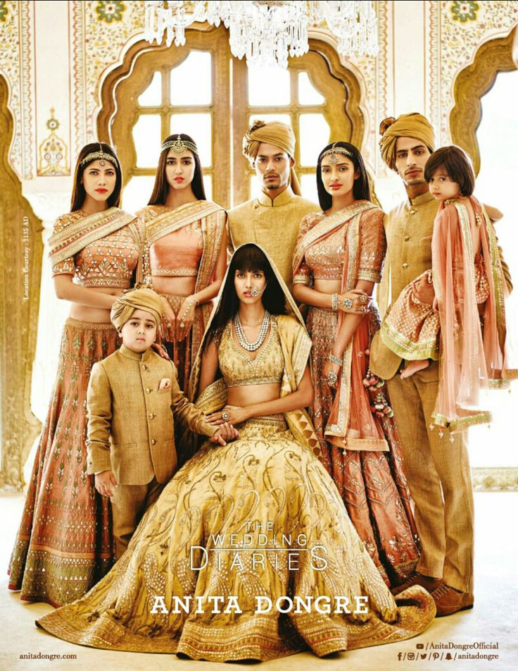 The Wedding Diaries - Anita Dongre - VOGUE India - October 2015