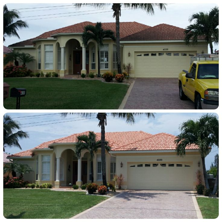 Donu0027t Forget To Clean Your Roof Before You Paint Your Home. It Is