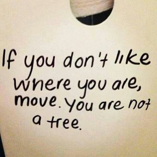 You are not a tree. - #quotes