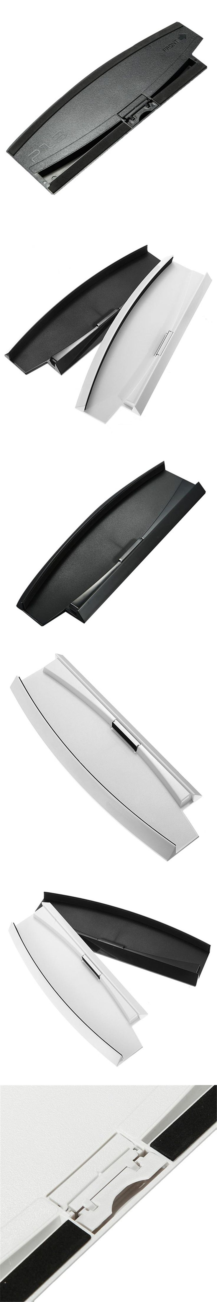 Newest !! Special Offer Black/White Color Vertical Stand Dock Base For Sony For Playstation 3 Slim Console For PS3 2000 Series