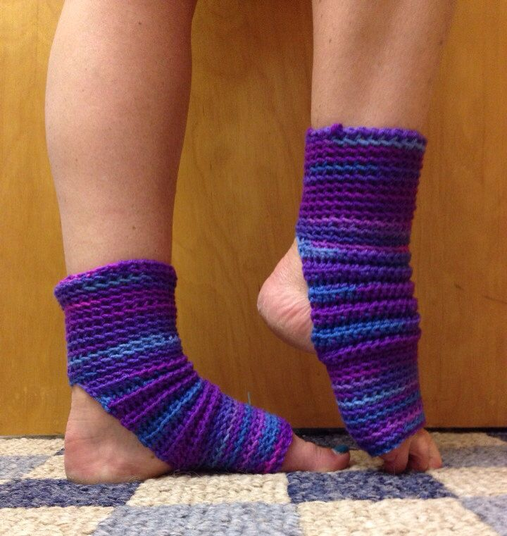 A personal favorite from my Etsy shop https://www.etsy.com/listing/193298126/yoga-socks-in-grape-fizz-purple-for