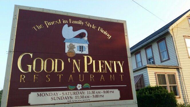 Good And Plenty Restaurant Lancaster