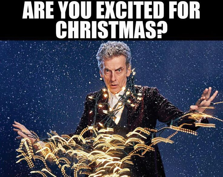 In other (non-political) news...  #DoctorWho #Christmas
