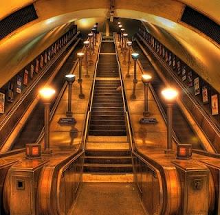 Underground railway stations built in London's Art Deco period.