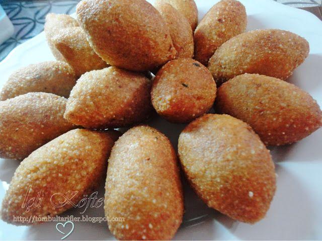 Tombul Tarifler, pratik yemek,, hamurişi ve diğerleri...: Kolay İçli Köfte