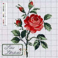 Szép szív trükkök: keresztszemes: Roses stílusban Shabby-chic ... és nem csak (gyűjtési rendszerek)