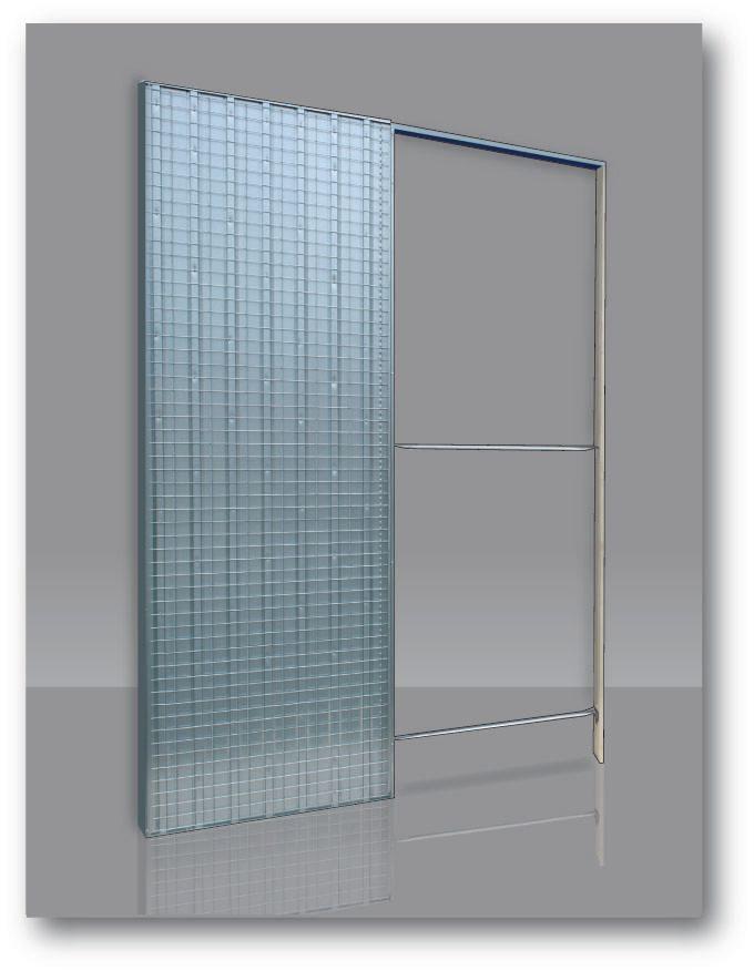 ch ssis doortech spl cloison finie 90 vide interne 54mm enduit 80x203cm kit koto peindre 100mm. Black Bedroom Furniture Sets. Home Design Ideas