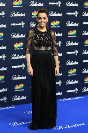La cantante Ruth Lorenzo - los Premios 40 Principales 2014 reúnen a lo mejor del pop