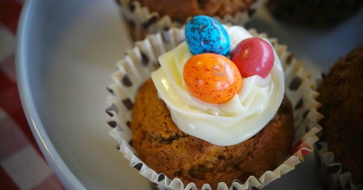 Tefal Cuisine Companion, Carrot and Walnut Cupcakes