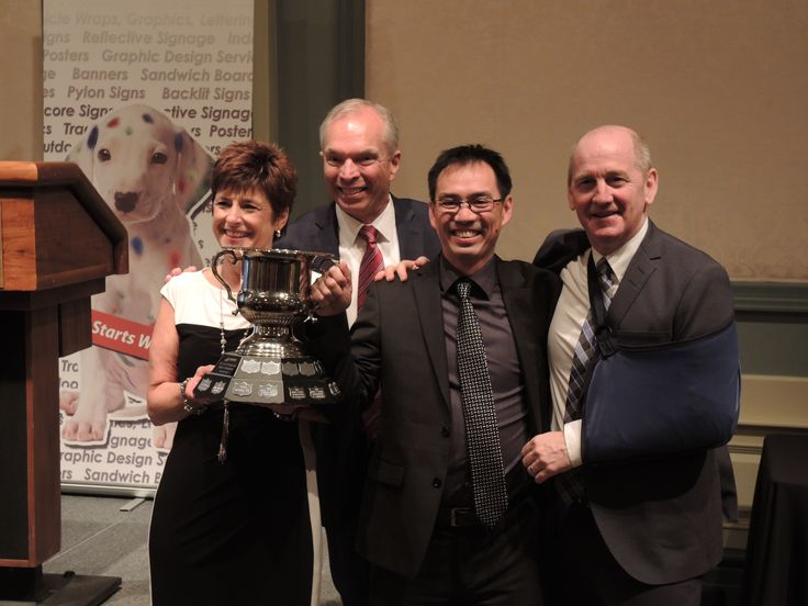 Speedpro Canada is excited to announce the winner of the Al Crow Memorial Cup Award...Joanne Ruston and Joe Yee of Speedpro Signs Calgary NE! Another amazing year for Speedpro Calgary NE! Congratulations!