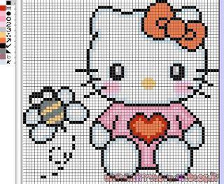 Hello Kitty con mosca alrededor