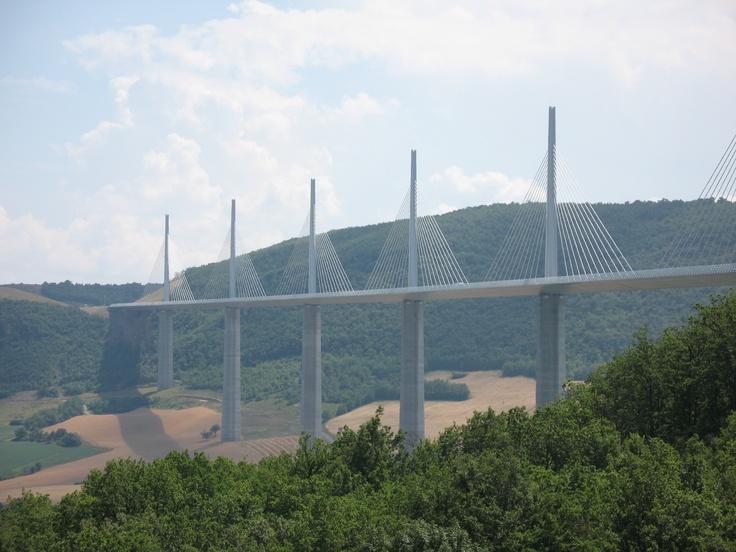The Milau bridge in France.