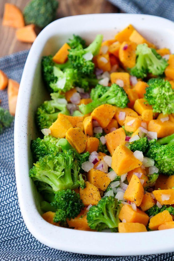 Mar 25, 2020 – Süßkartoffelauflauf mit Brokkoli – ein gesundes Kinderrezept, für das ihr nur 4 Zutaten braucht. Ein ganz…