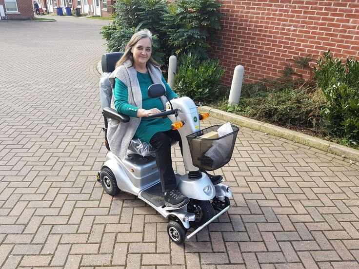 Mrs Brophy is very pleased with her new Plus mobility scooter get your demo here http://contact.quingoscooters.com/social-mobility-scooters