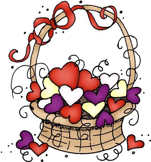 Basket of hearts