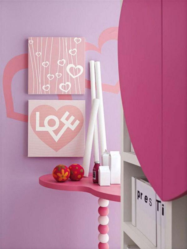 Die besten 25+ Rosa schlafzimmermöbel für teenager Ideen auf - schlafzimmer ideen pink