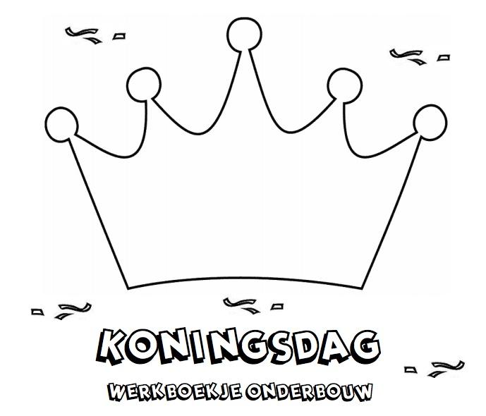 Koningsdag Werkboekje voor de onderbouw.