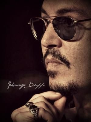 Johnny Depp morphing into George Michael