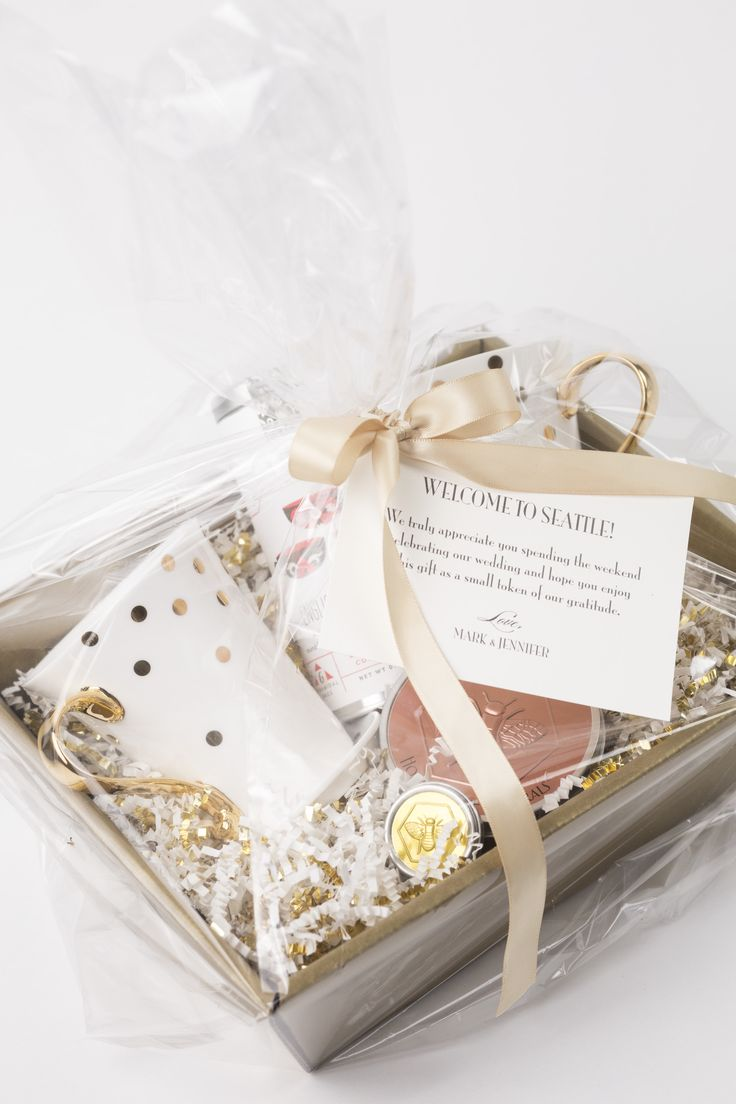 14 best Welcome Gifts by Pink Blossom Events images on Pinterest