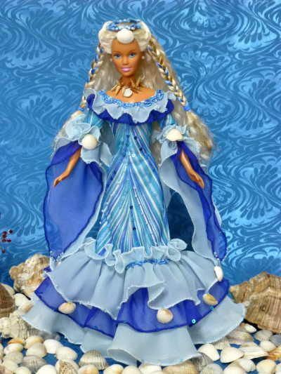 barbie - includes pattern download (strih)