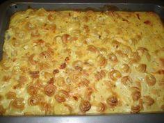 Herkullinen. Voi tarjota ilman uuniakin jos keittää makaroonit kypsiksi... Kananmunaton. Reseptiä katsottu 108932 kertaa. Reseptin tekijä: vanilijakreemi89.