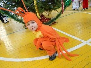 Детский сценический костюм краба