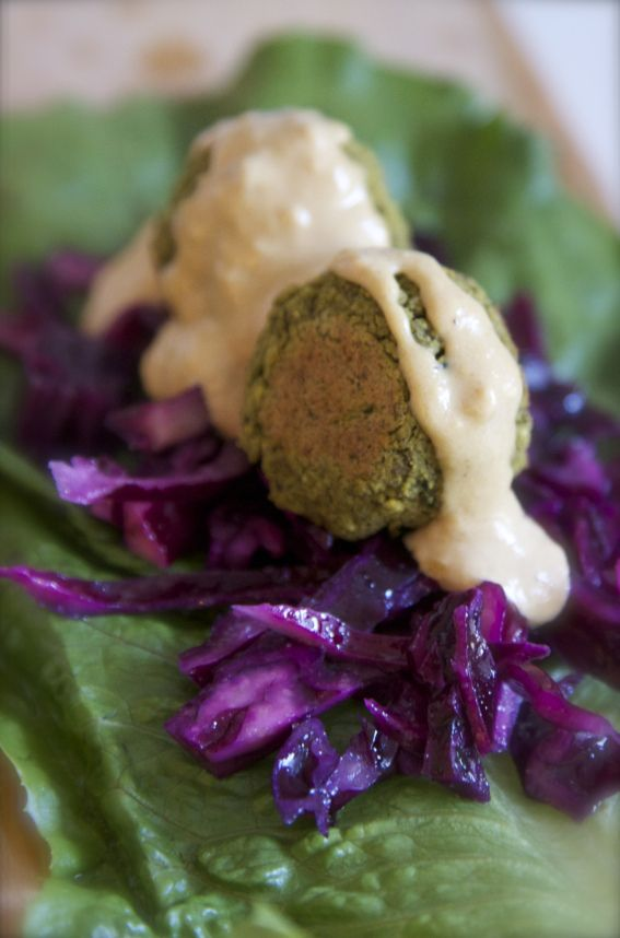 Falafel Recipe. Baked Falafel with Tahini Sauce. Vegan, gluten free ...