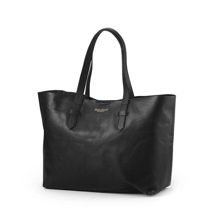Elodie Details Luiertas Leather Black