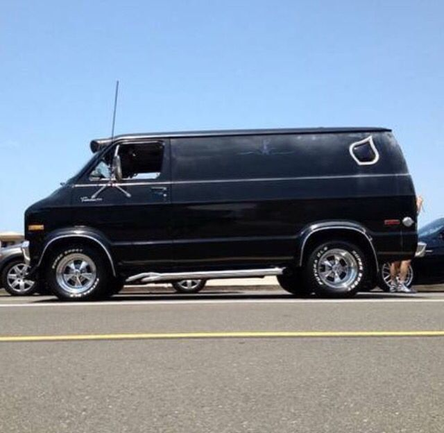 California Dodge Van.