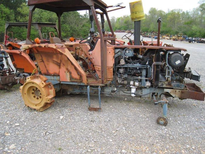 This tractor has been dismantled for Kubota M6850 tractor parts.  #kubota #tractor #parts