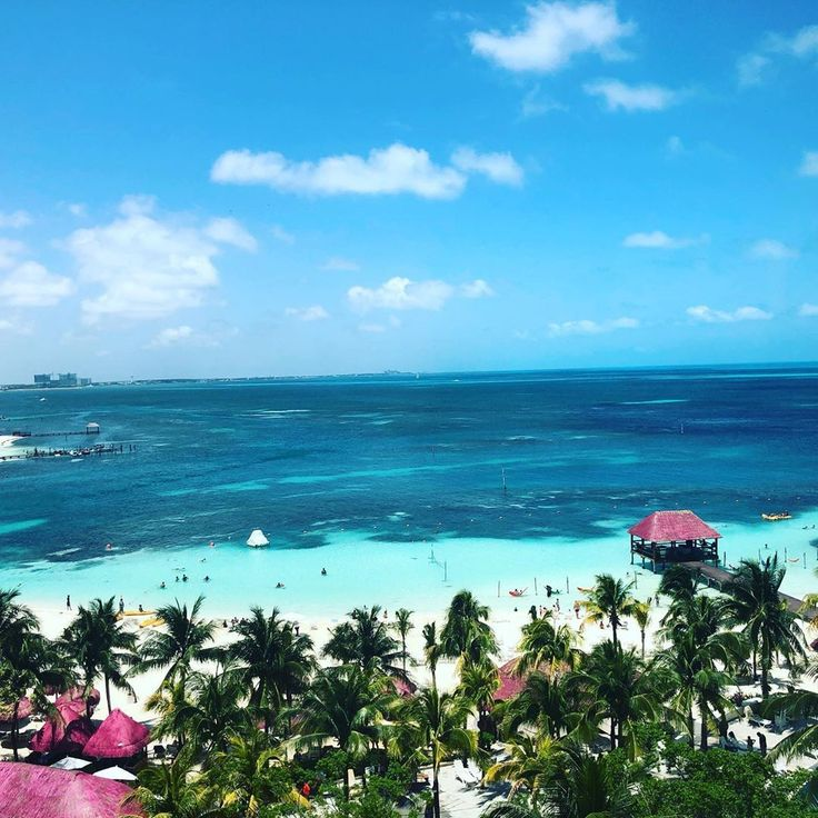 Views From Above The Palms At Grand Oasis Palm Cancun