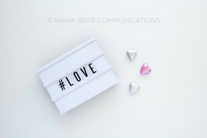 Styled Stock Photo | Love by mamabearcomms on @creativemarket