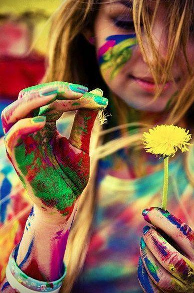 ♥: Colour, Senior Pictures, Color, Art, Rainbows, Flower Children, Photography, Paintings Fight, Photo Shooting