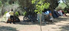 Our base camp in Camping Argostoli     check it out at wildlifesense.com