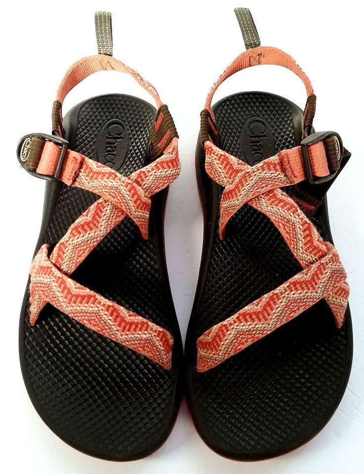 CHACO 8 SANDALS Melon Adjustable Sport Sandals ZX/1 *PRIMO* Women Sz 8 #Chaco #SportSandals