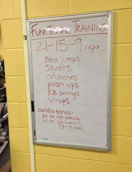 Whiteboard Workout!
