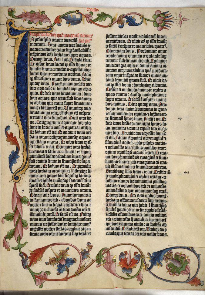 Reading Gutenberg's Bible