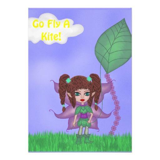 Go Fly a Kite Invitation