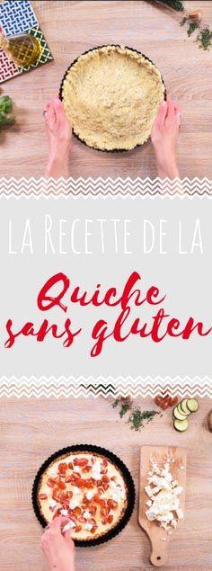 Découvrez la recette de la quiche légère sans gluten en vidéo