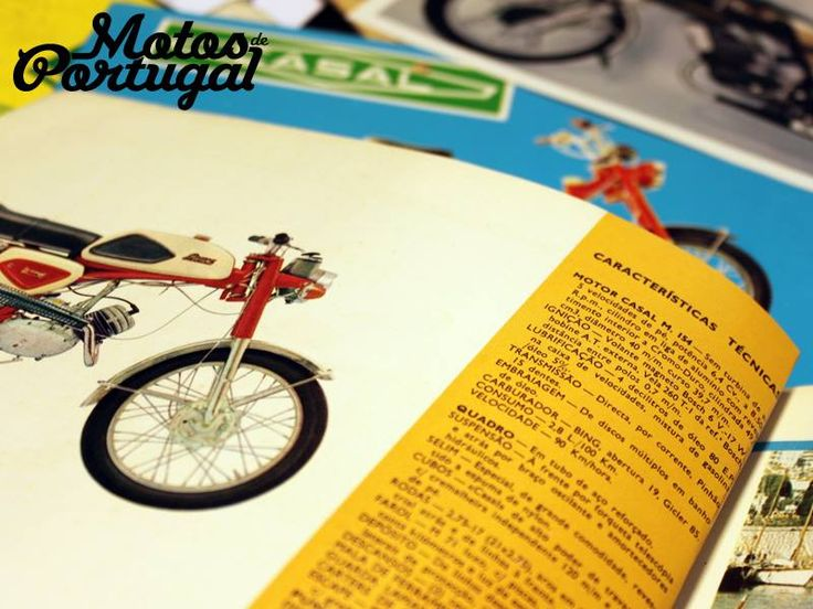 Portuguese Moped vintage catalogues