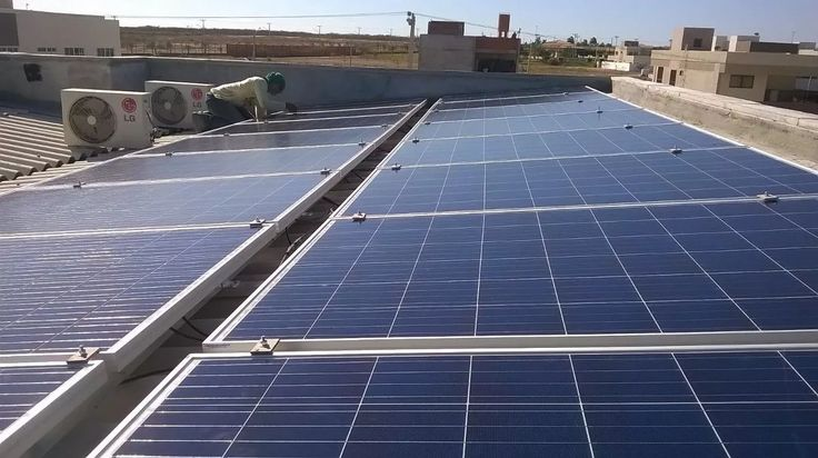 gerador solar 4080wp 16 painel 265wp + inversor de fronius