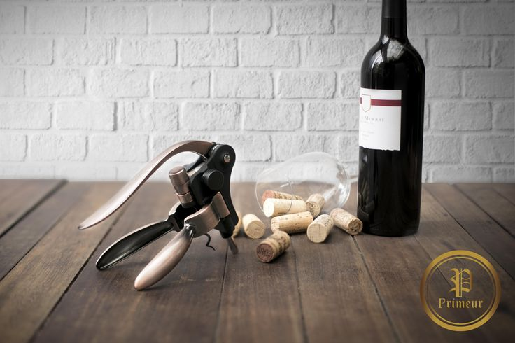 Enjoy the wine lifestyle with the Rabbit Wine Opener Set. No more frazzling when opening your wine bottles - push and pull, viola! You're all set for a good time! Get it at www.primeurwine.com