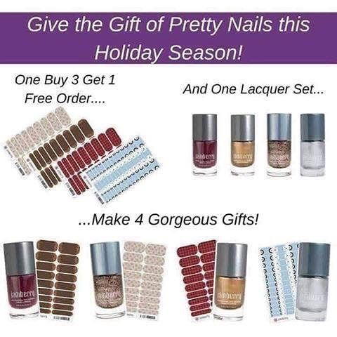 Have you seen these adorable Jamberry gift sets and gift ideas? Let me wrap up your holiday with a personalized gift for your family and friends that love to do their nails! I have some adorable gift wrapping ideas too. Email me cassy36@gmail.com for details!