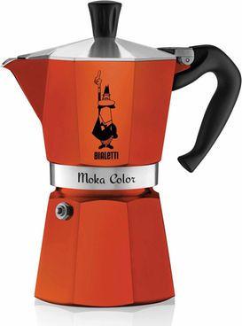 Bialetti Moka Express Espressokanne, orange #Kaffee #Kanne #Küche #Haushalt #Galaxus
