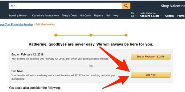 What Are The Ways To Cancel An Amazon Prime Free Trial Amazon
