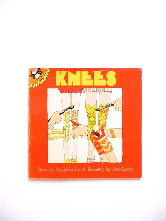 Vintage Picture Puffin Book Knees by Doug MacLeod Illustrated