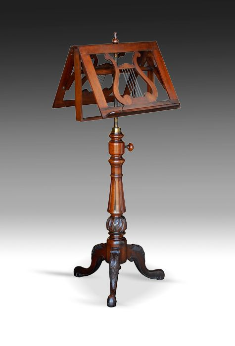 Victorian_Rosewood_Antique_Double_Music_Stand. I would live to repurpose an antique music stand for cookbooks / tablets / screens to read recipes in the kitchen